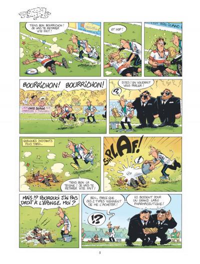 Page 4 Les rugbymen - spécial castagne