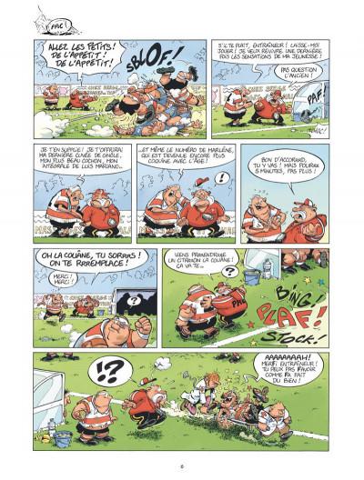 Page 5 Les rugbymen - spécial castagne