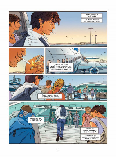 Page 4 une nuit à Rome tome 2