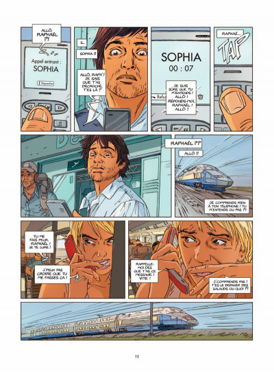 Page 8 une nuit à Rome tome 2