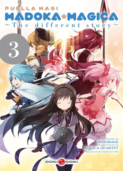 image de puella magi Madoka magika - the different story tome 3