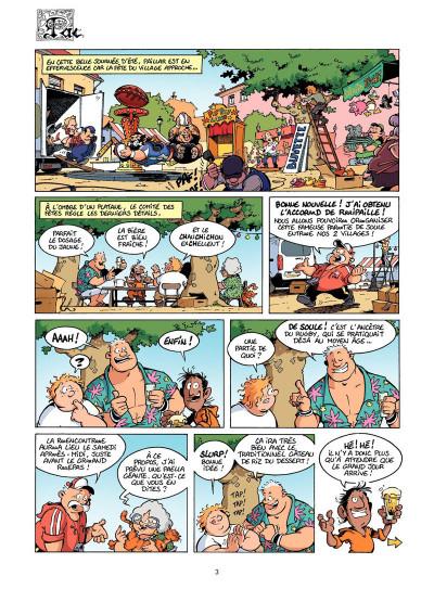 Page 2 Les Rugbymen Tome 12 - Aujourd'hui, on laisse le cerveau au vestiaire !