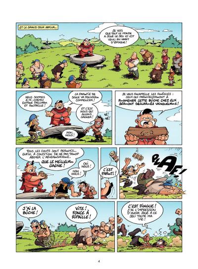 Page 3 Les Rugbymen Tome 12 - Aujourd'hui, on laisse le cerveau au vestiaire !