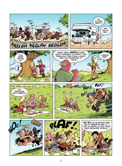 Page 5 Les Rugbymen Tome 12 - Aujourd'hui, on laisse le cerveau au vestiaire !