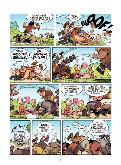 Page 6 Les Rugbymen Tome 12 - Aujourd'hui, on laisse le cerveau au vestiaire !