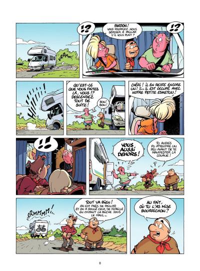 Page 7 Les Rugbymen Tome 12 - Aujourd'hui, on laisse le cerveau au vestiaire !
