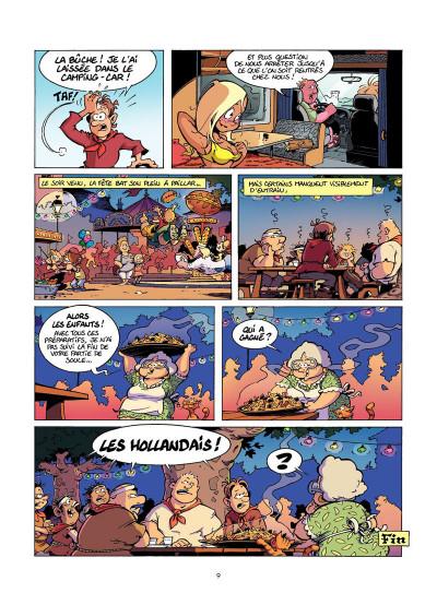 Page 8 Les Rugbymen Tome 12 - Aujourd'hui, on laisse le cerveau au vestiaire !