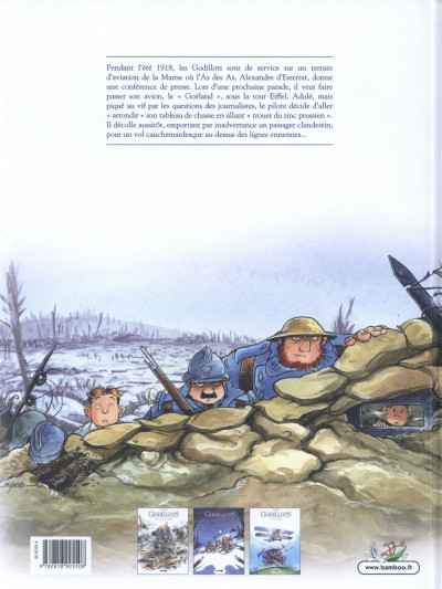 Dos Les Godillots tome 3 - Le Vol du goéland
