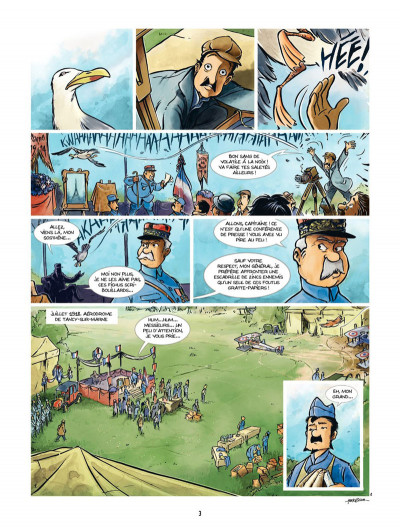 Page 1 Les Godillots tome 3 - Le Vol du goéland