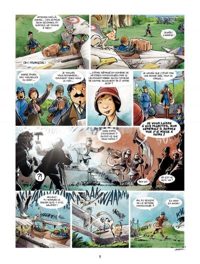 Page 7 Les Godillots tome 3 - Le Vol du goéland