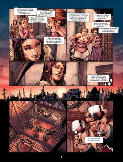 Page 7 La Belle et la bête Tome 1
