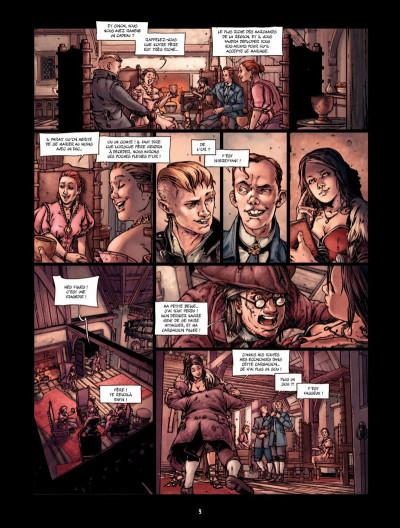 Page 8 La Belle et la bête Tome 1