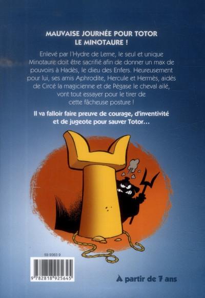 Dos Les petits mythos - roman poche tome 1