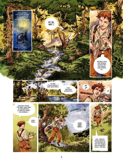 Page 4 Les Souliers rouges Tome 1