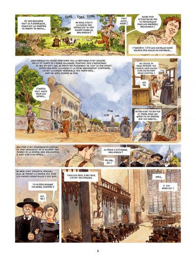 Page 5 Les Souliers rouges Tome 1