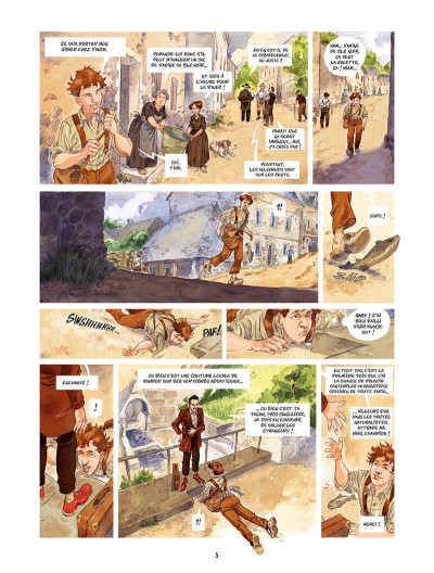 Page 6 Les Souliers rouges Tome 1