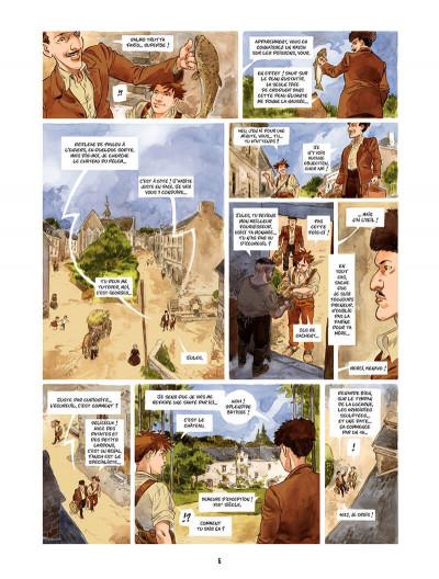 Page 7 Les Souliers rouges Tome 1