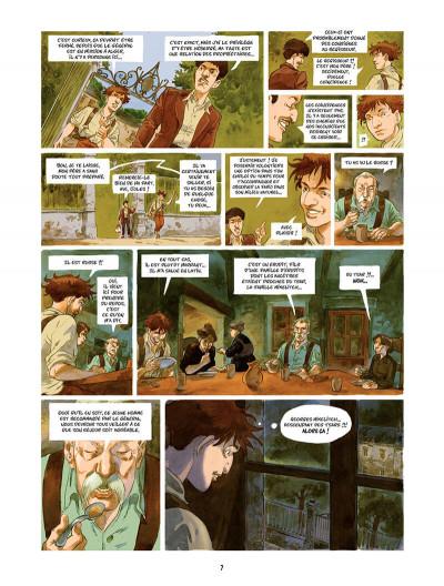 Page 8 Les Souliers rouges Tome 1