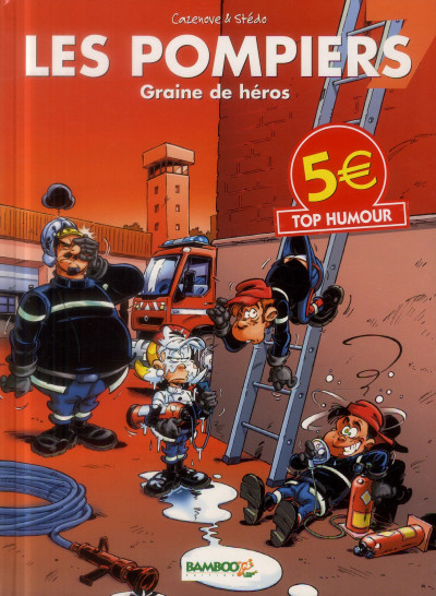 Couverture Les Pompiers Tome 7 - Top Humour 2014