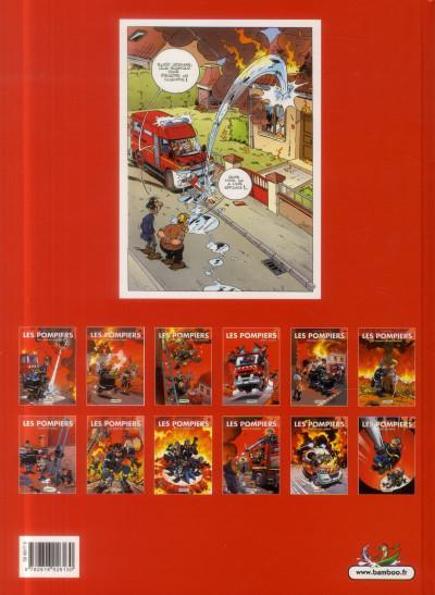 Dos Les Pompiers Tome 7 - Top Humour 2014
