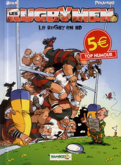 Couverture Les Rugbymen Tome 2 - Top Humour 2014