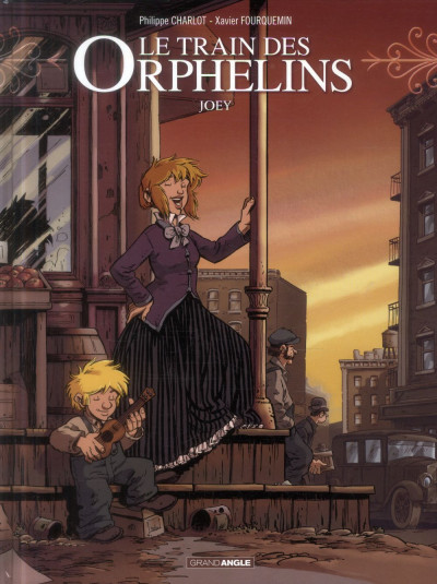Couverture Le train des orphelins tome 4