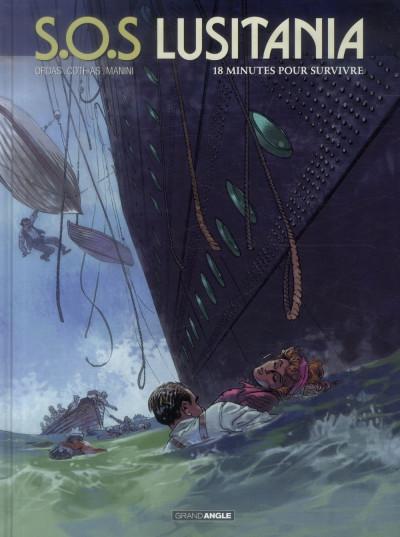 image de S.O.S Lusitania tome 2 - 18 minutes pour survivre