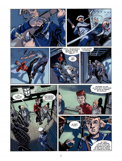 Page 8 S.O.S Lusitania tome 2 - 18 minutes pour survivre