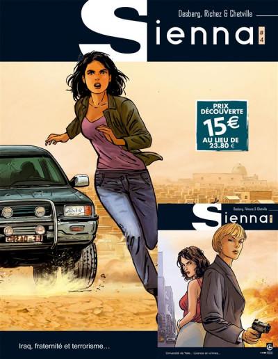 image de Sienna - Pack Découverte Tome 4 + Tome 1