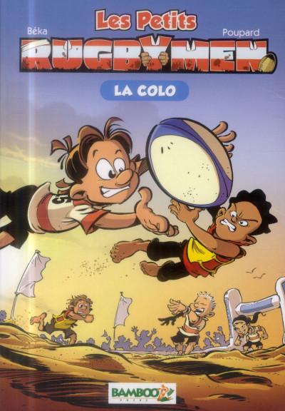 Couverture Les petits rugbymen - roman poche tome 5