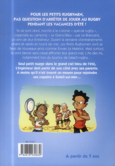 Dos Les petits rugbymen - roman poche tome 5