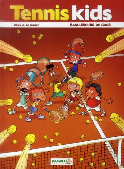 image de Tennis Kids Tome 1 - Ramasseurs de gags