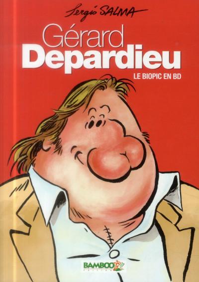Couverture Gérard Depardieu - Le Biopic en BD