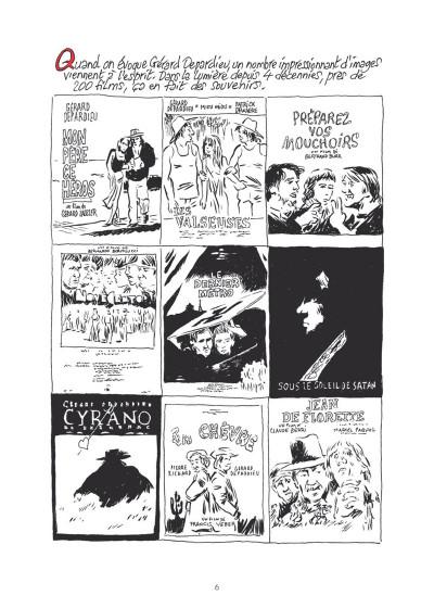 Page 3 Gérard Depardieu - Le Biopic en BD