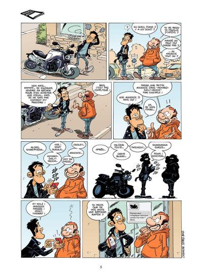 Page 6 Les Fondus de moto Tome 6