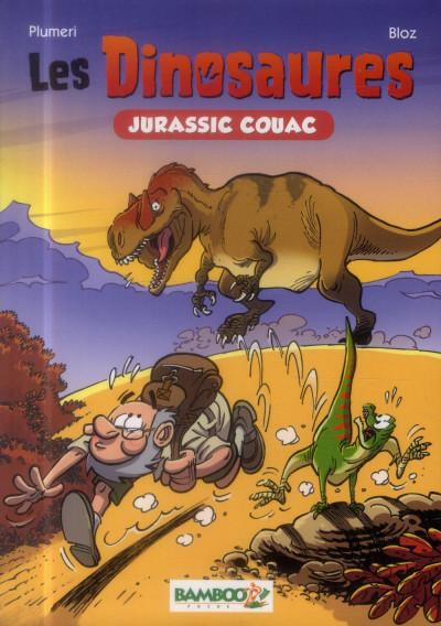 Couverture Les dinosaures - roman poche tome 1