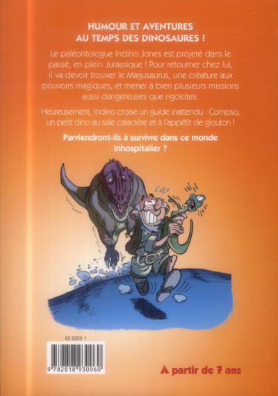 Dos Les dinosaures - roman poche tome 1