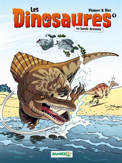 Couverture Les Dinosaures en BD tome 4