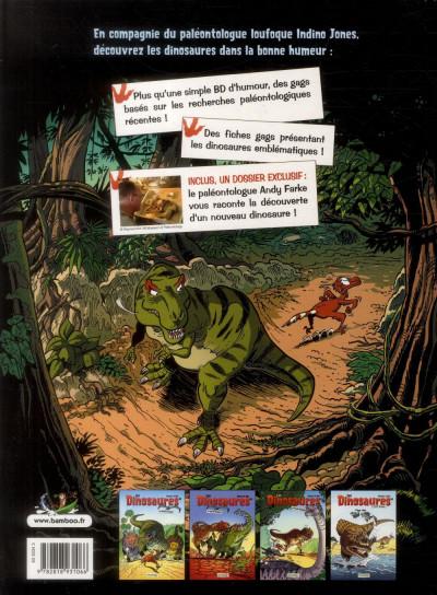 Dos Les Dinosaures en BD tome 4