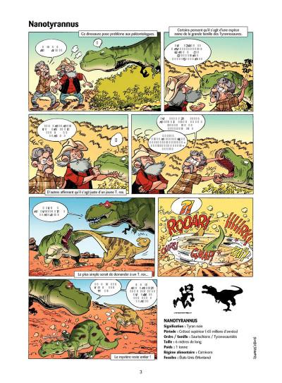 Page 2 Les Dinosaures en BD tome 4