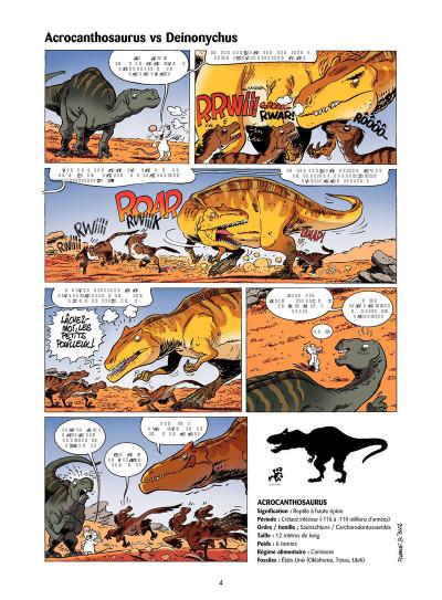 Page 3 Les Dinosaures en BD tome 4