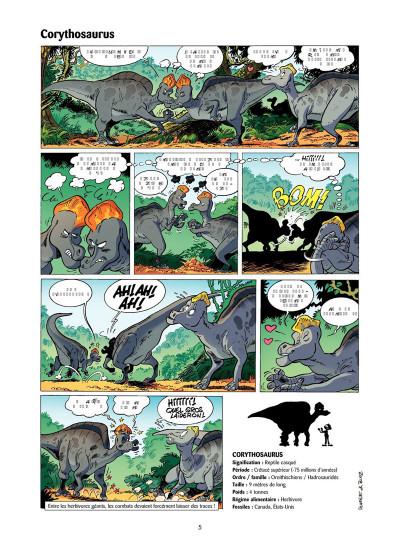 Page 4 Les Dinosaures en BD tome 4