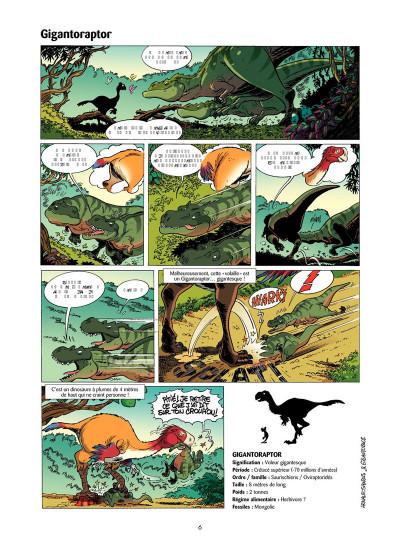 Page 5 Les Dinosaures en BD tome 4