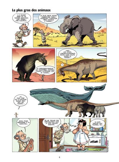 Page 6 Les Dinosaures en BD tome 4
