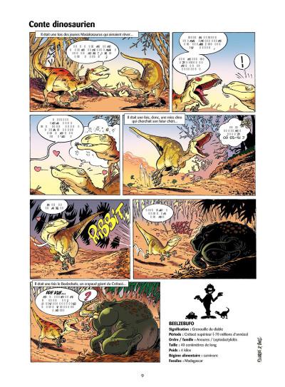 Page 7 Les Dinosaures en BD tome 4