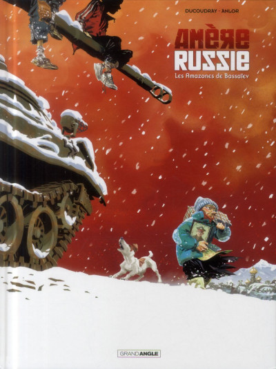 Couverture Amère Russie tome 1