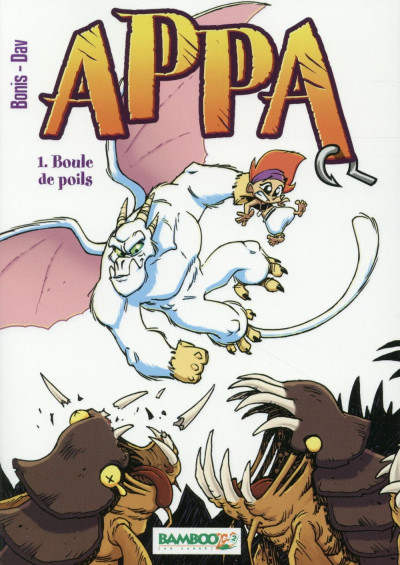 image de Appa tome 1 - Boule de poils (manga)