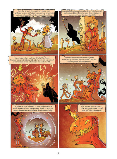 Page 4 Hallow tome 1