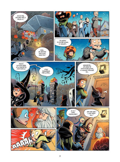 Page 6 Hallow tome 1
