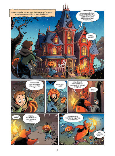 Page 8 Hallow tome 1